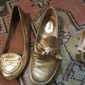 Gold Shoes Sperry MK. 8.5